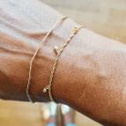 Joobee : bracelet opale Joy de Gisel b. porté