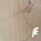 Collier pendentif Plum de Nadja Carlotti
