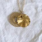 Joobee : collier médailles dorées Eos de Un de Ces Quatre