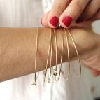 Joobee : bracelet jonc 3 fils Hati de Sissi 100Fils portés