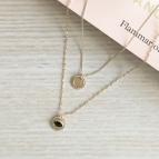 Joobee : collier double June de Constance L ambiance