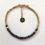 Joobee : bracelet perles en bois Jagua noir de Maison Clairon