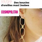 Joobee : boucles d'oreilles Sophia de Elis Paris vu dans la presse