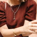 Joobee : collier gros maillons Lou de Gisel b. porté