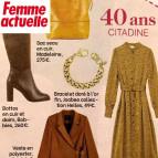 Joobee : bracelet grosse maille gourmette dorée Joan de Helles vu dans la presse