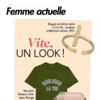 Joobee : bague Léone Trait pointillé de Léone vue dans la presse