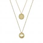 Joobee : collier double June de Constance L