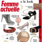 Joobee : boucles d'oreilles mini créoles étoile de Léone vu dans la presse