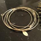 Joobee : bracelet jonc 3 fils Hati de Sissi 100Fils