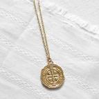 Joobee : collier long médaille Inès de Petite Madame