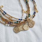 Joobee : collier médaille nacre Fès médaille de Petite Madame