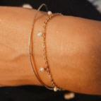 Joobee : bracelet perles de culture Diana de Gisel b. porté