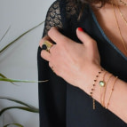 Joobee : bracelet Johanna de Ginandger porté