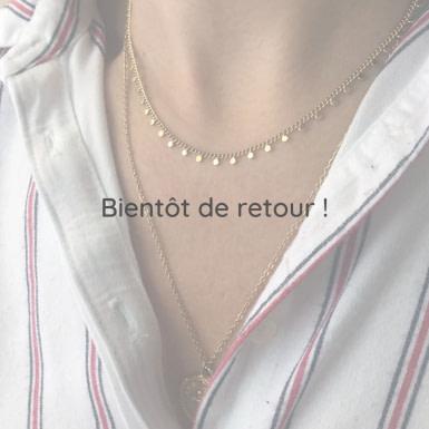 Joobee : collier ras de cou Mina de Petite Madame porté