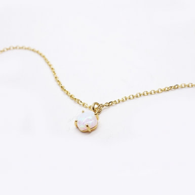 Joobee : collier Opale de Gisel b.
