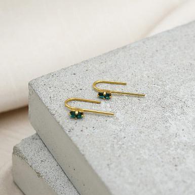 Joobee : Boucles d'oreilles puces cristal Swarovski de April Please