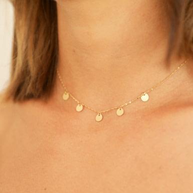 Joobee : collier Malo pampilles de Constance L porté