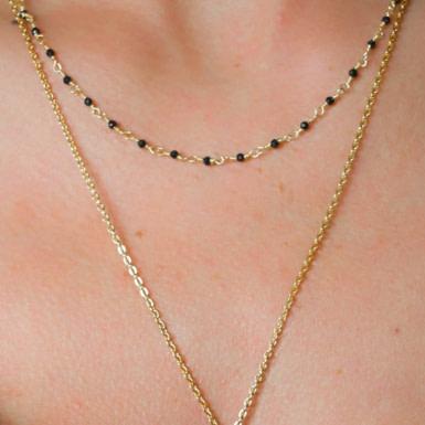 Joobee : collier spinelle Aude de Ginandger