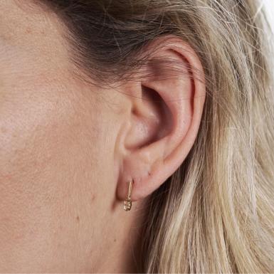 Joobee : Boucles d'oreilles cristal Swarovski André de April Please portées