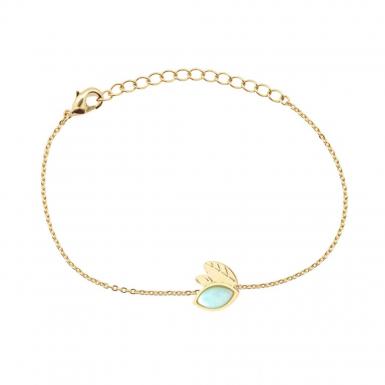 Joobee : bracelet amazonite Alice de Aurélie Joliff
