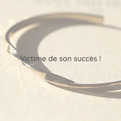 Joobee : bracelet jonc torsadé Aria de Anna Sottilotta