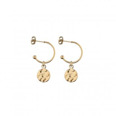 Joobee : boucles d'oreilles créoles Pampilles de Léone