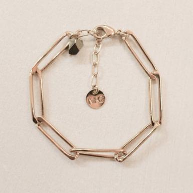 Joobee : bracelet maille gourmette Roucas de Maison Clairon