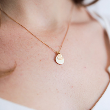 Joobee : collier Malo de Constance L porté