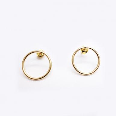 Joobee : Boucles d'oreilles mini créoles or Emy de Gisel b.