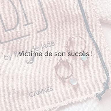Joobee : boucles d'oreilles Mia de By Fleur de Jade