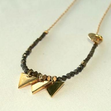 Joobee : collier Delta de By Fleur de Jade
