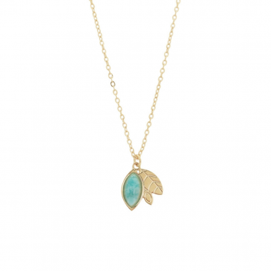 Joobee : collier pendentif amazonite Alice de Aurélie Joliff
