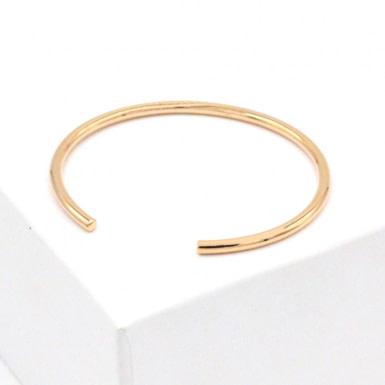 Joobee : bracelet Jonc ovale de 4 Crosses