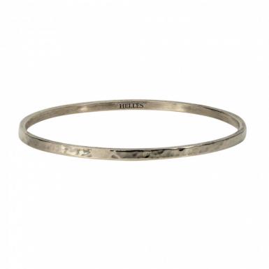 Joobee : bracelet jonc métal argenté de Helles