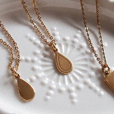 Joobee : collier pendentif Goutte de Léone