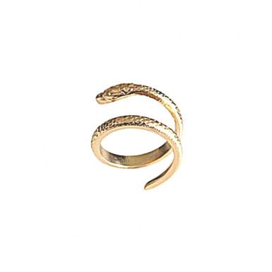 Joobee : bague serpent Eden de 4 Crosses