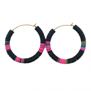 Joobee : Boucles d'oreilles heishi All The Must