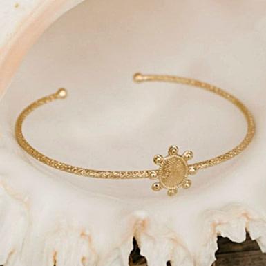 Joobee : bracelet jonc anémone de Un de Ces Quatre
