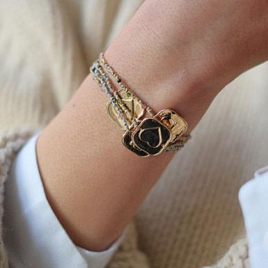 Joobee : Bracelet By Johanne Casino cœur porté