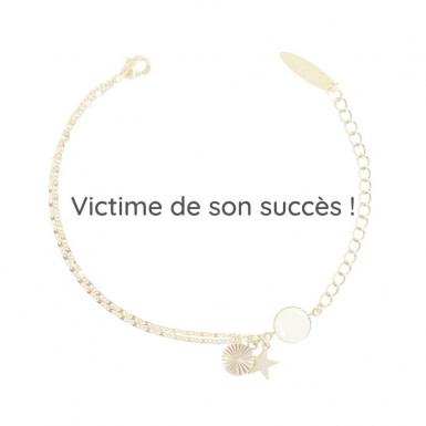 Joobee : bracelet breloque étoile Malo de Constance L