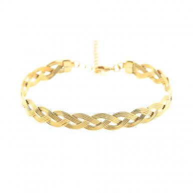 Joobee : Bracelet jonc tressé Vintage de Aurélie Joliff