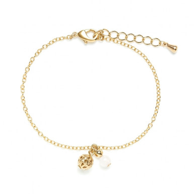 Joobee : Bracelet breloques quartz rose Donna de Jour de Mistral