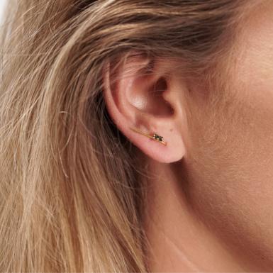 Joobee : boucles d'oreilles Guy de April Please portées
