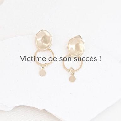 Boucles d'oreilles Santo (Victime de son succès !)