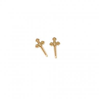 Joobee : boucles d'oreilles puces Epée de Léone