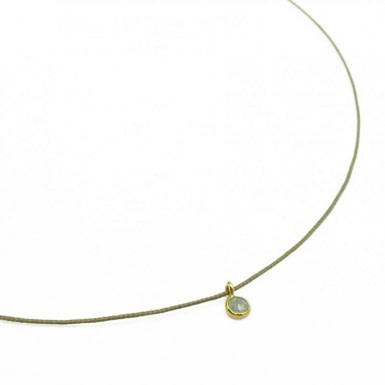Joobee : collier cordon labradorite Indiagate de By Johanne