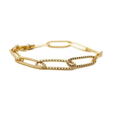 Joobee : bracelet gros maillons dorés Ayala de Stella Mai
